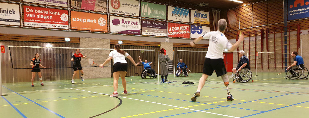 Para-Badminton toernooi Sliedrecht